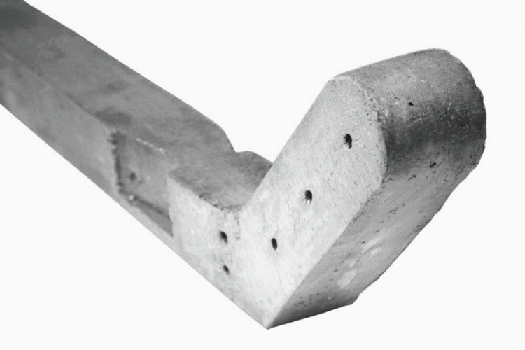 Concrete Posts for Chainlink