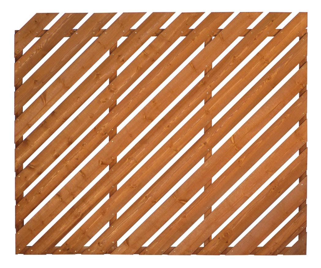 6 X 3 Diagonal Palisade Panel Stockport Fencing