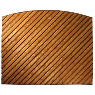 Arched Top Diagonal Closeboard