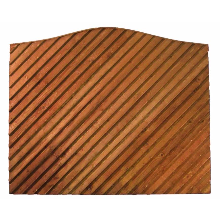Contoured Top Diagonal Closeboard