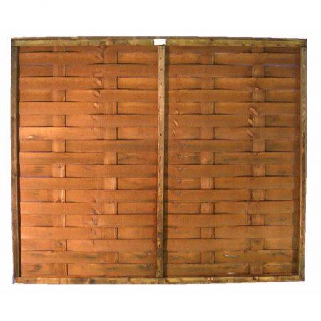 Interwoven Fence Panels