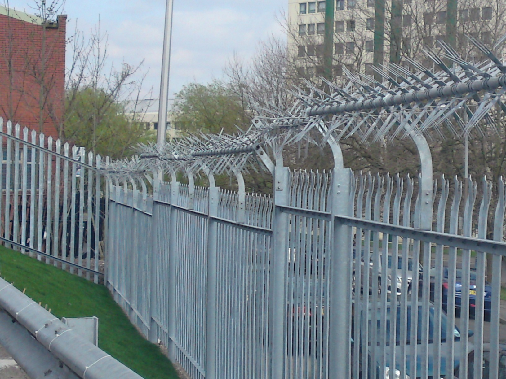 Steel Palisade Stockport Fencing